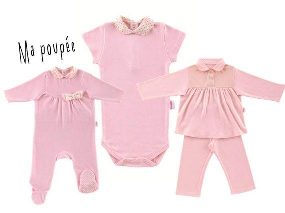 Une célèbre marque de poupée crée une ligne de vêtement pour bébés